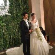黄晓明anglebaby结婚头像,祝他们永远幸福!