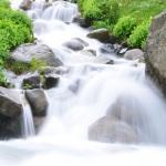 qq最新头像瀑布流水 高清瀑布溪流美景景色2021最