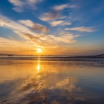 qq最新头像日出日落高清写真 高清可爱的景色2